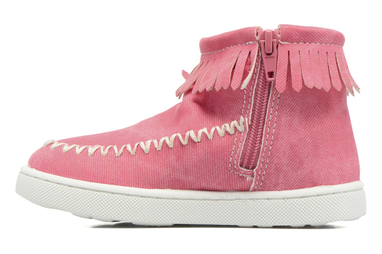 Bottines et boots Esprit JOJO FRINGY Rouge vue face