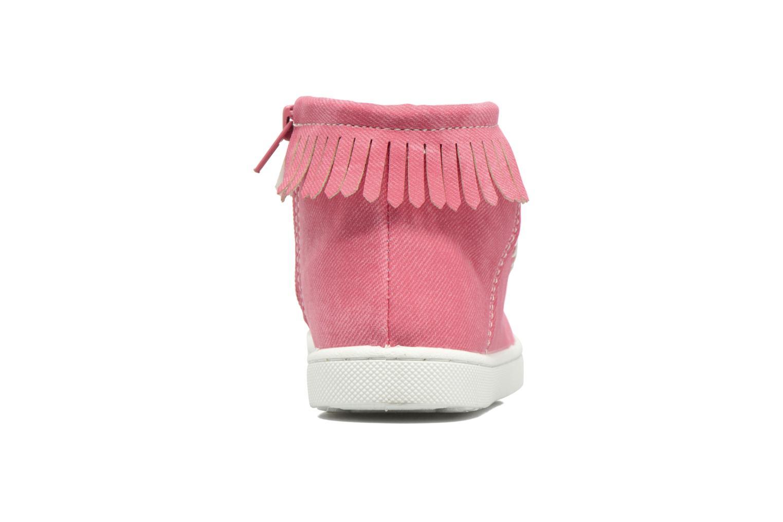 Bottines et boots Esprit JOJO FRINGY Rouge vue droite