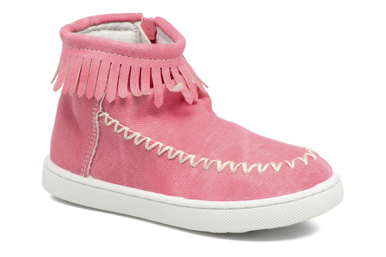 Bottines et boots Esprit JOJO FRINGY Rouge vue détail/paire
