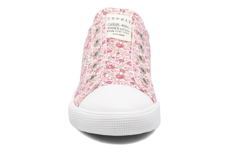 Baskets Esprit CONNY FLOWER NL Rose vue portées chaussures