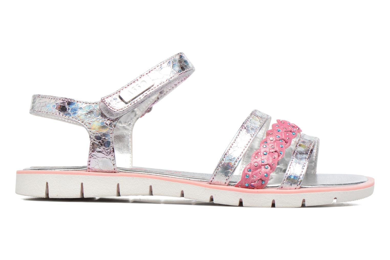 Sandales et nu-pieds ASSO Gabriella Argent vue derrière