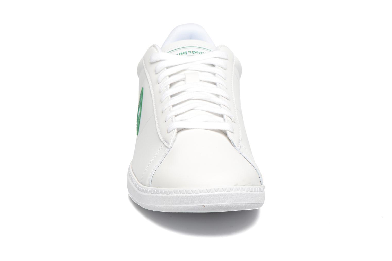Baskets Le Coq Sportif Courtset Lea Blanc vue portées chaussures