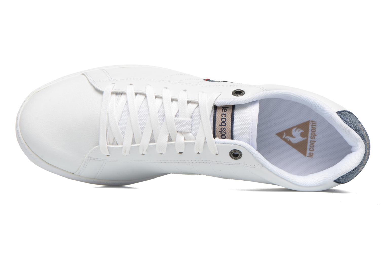 Optical White Le Coq Sportif Courtcraft S Lea/Nylon (Blanc)