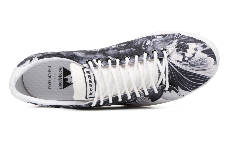 Sneakers Le Coq Sportif Charline Kahori Maki Nero immagine sinistra