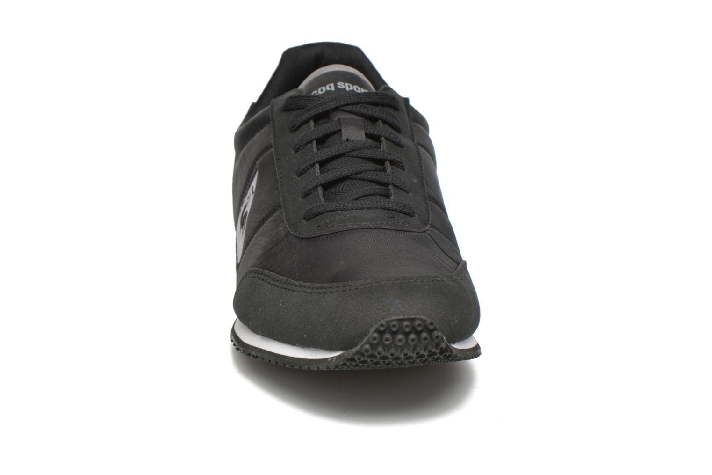 Baskets Le Coq Sportif Racerone Nylon Noir vue portées chaussures