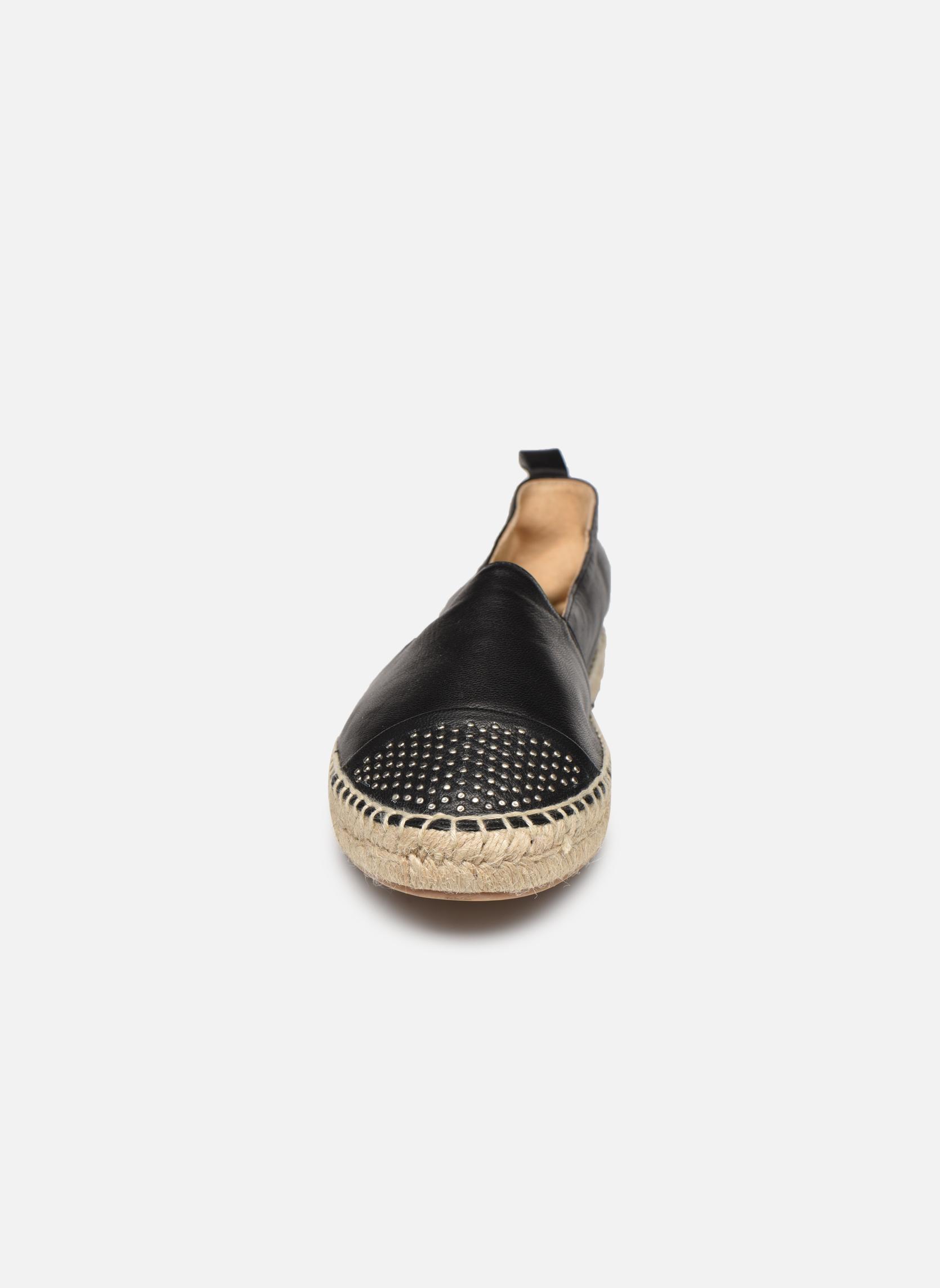 Espadrilles Billi Bi Eboli Noir vue portées chaussures