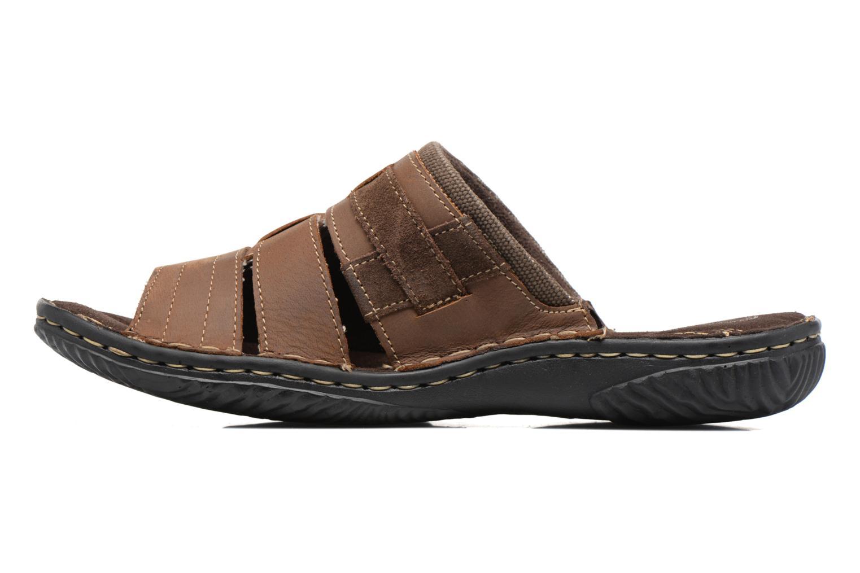 Sandales et nu-pieds Roadsign Geo Marron vue face