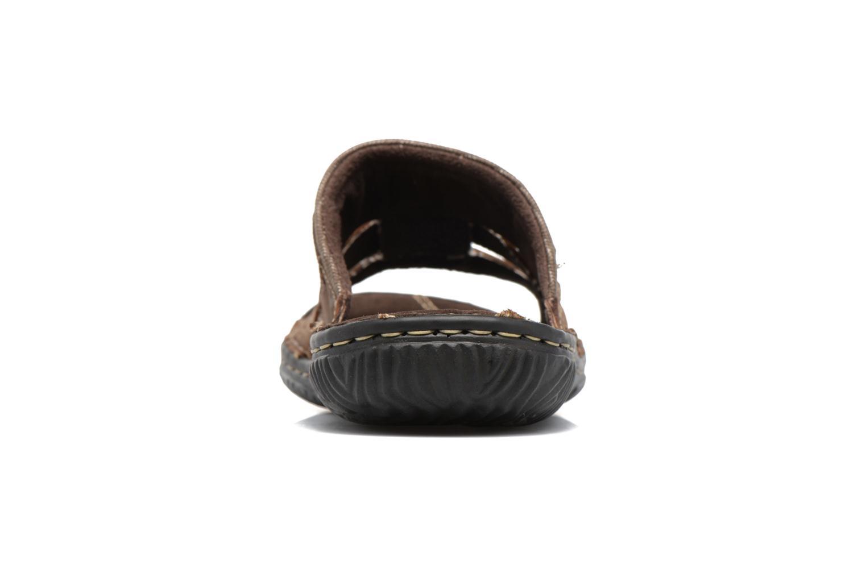 Sandales et nu-pieds Roadsign Geo Marron vue droite