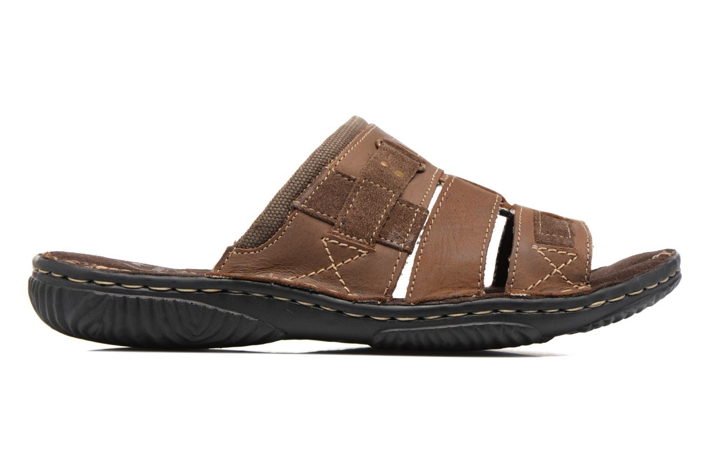Sandales et nu-pieds Roadsign Geo Marron vue derrière