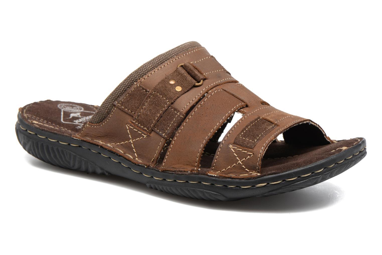 Sandales et nu-pieds Roadsign Geo Marron vue détail/paire