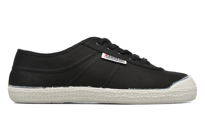 Chaussures à lacets Kawasaki Basic W Noir vue derrière