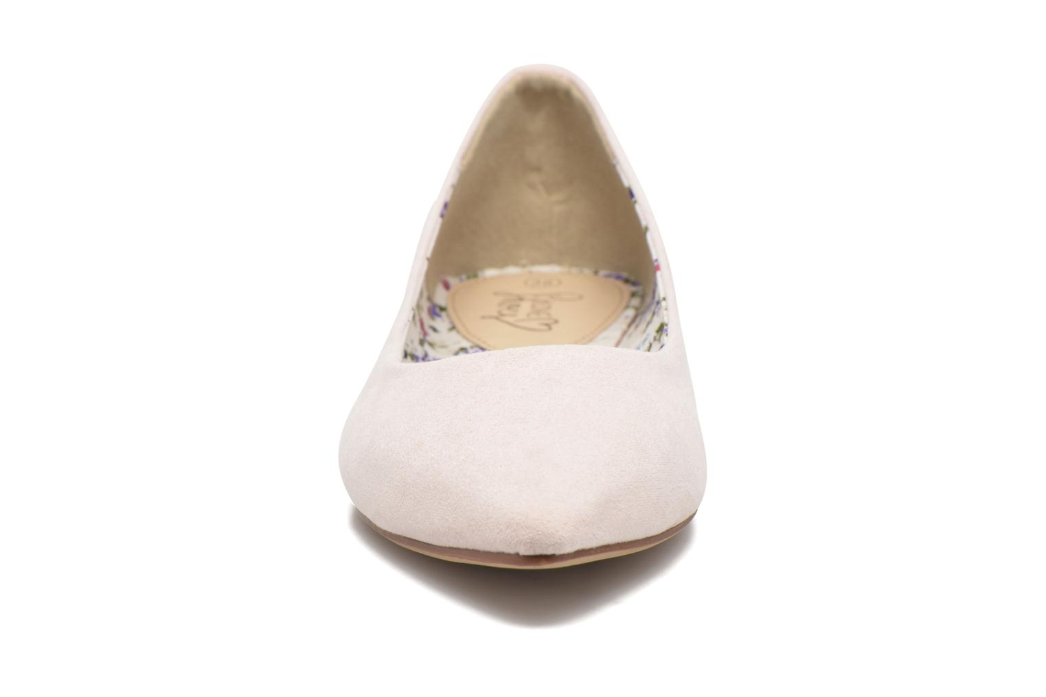 Ballerines I Love Shoes BLOWN Rose vue portées chaussures