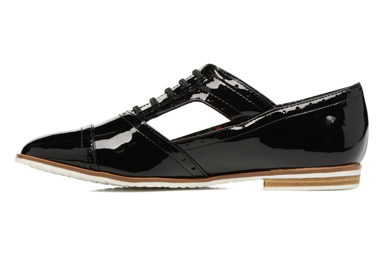 Lace-up shoes I Love Shoes BLEST Black front view