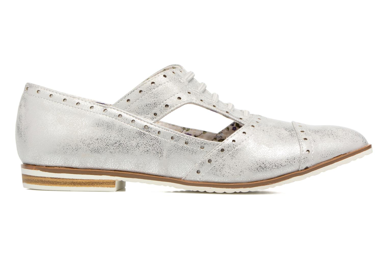 Zapatos con cordones I Love Shoes BLEST Plateado vistra trasera