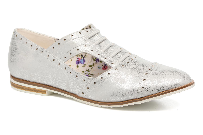 Zapatos con cordones I Love Shoes BLEST Plateado vista de detalle / par