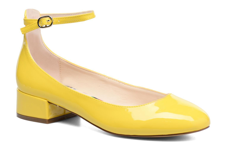 Ballerines I Love Shoes BLIJ Jaune vue détail/paire
