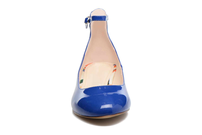 Ballerines I Love Shoes BLIJ Bleu vue portées chaussures