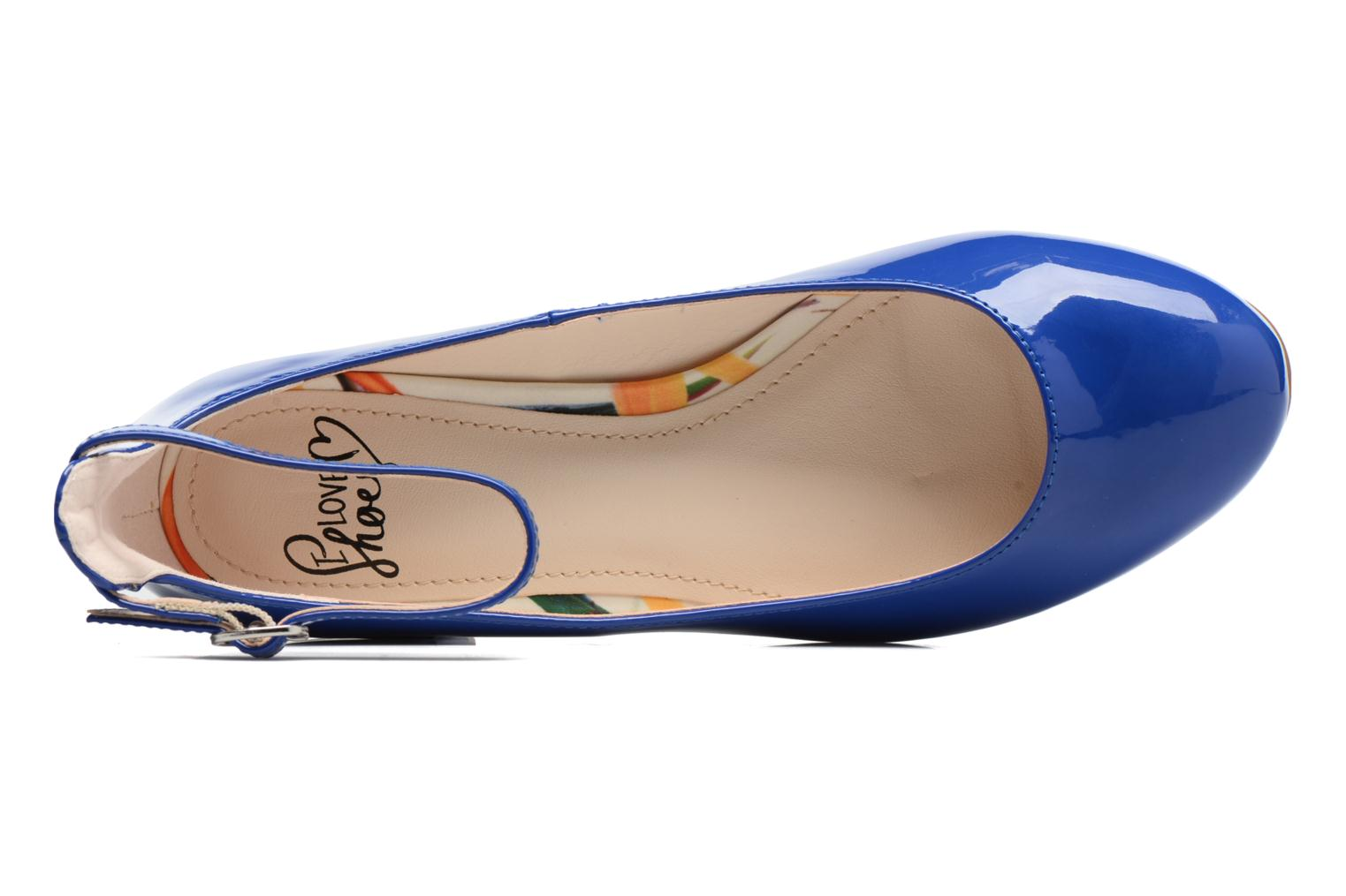 Ballet pumps I Love Shoes BLIJ Blue view from the left