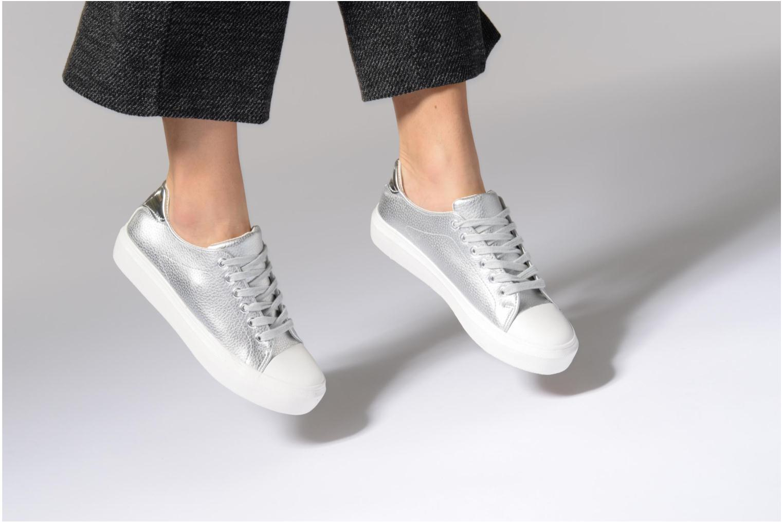 Trainers I Love Shoes BLIDE Silver view from underneath / model view