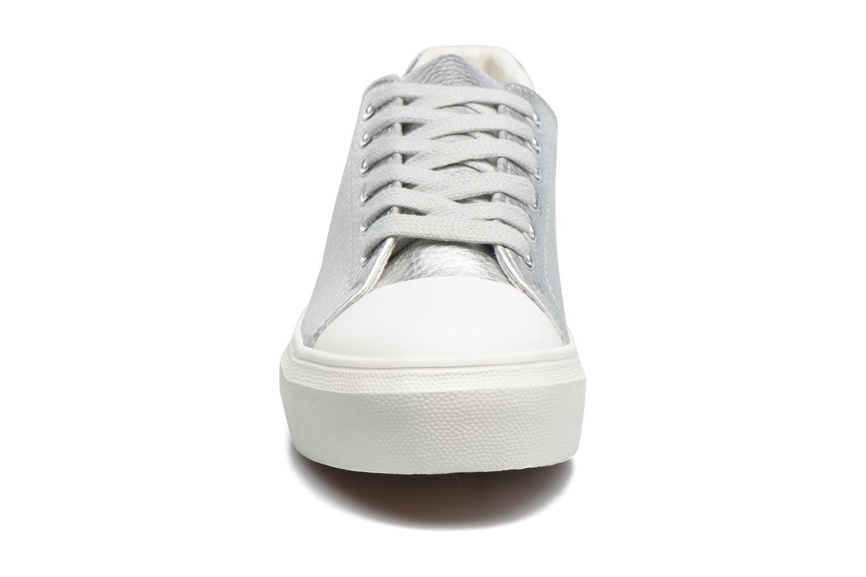 Baskets I Love Shoes BLIDE Argent vue portées chaussures