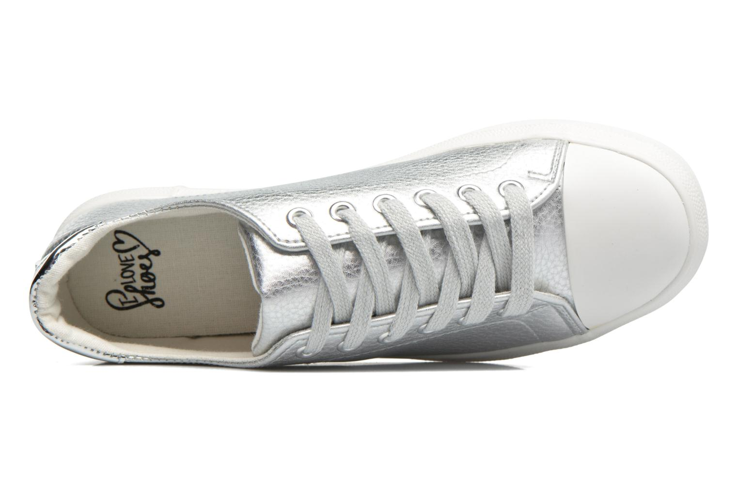Trainers I Love Shoes BLIDE Silver view from the left