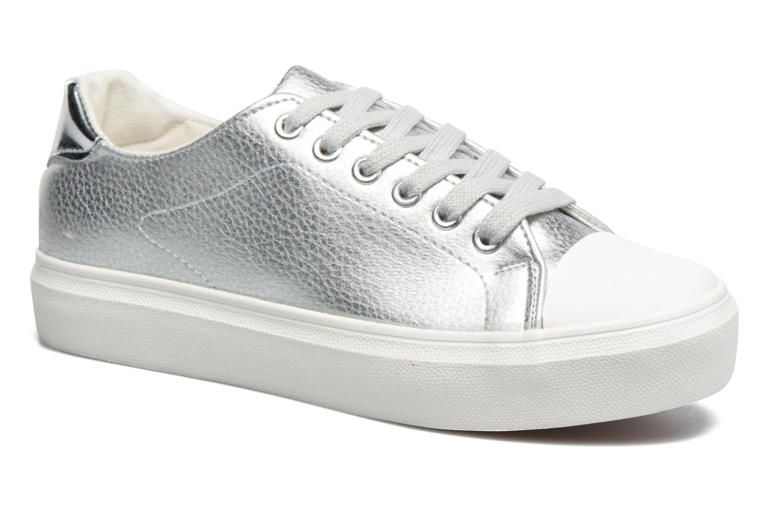 Trainers I Love Shoes BLIDE Silver detailed view/ Pair view