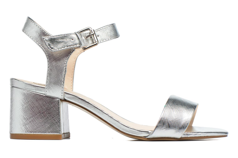Sandales et nu-pieds I Love Shoes BLEUR Argent vue derrière