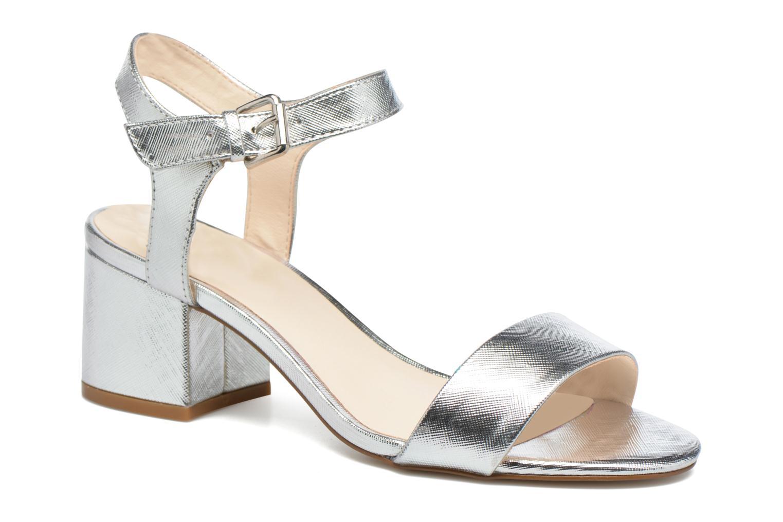 Sandales et nu-pieds I Love Shoes BLEUR Argent vue détail/paire