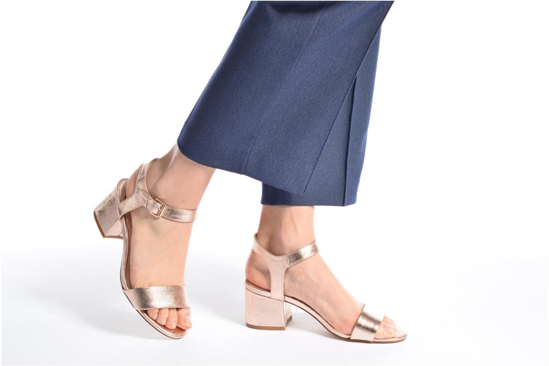 Sandalias I Love Shoes BLEUR Azul vista de abajo