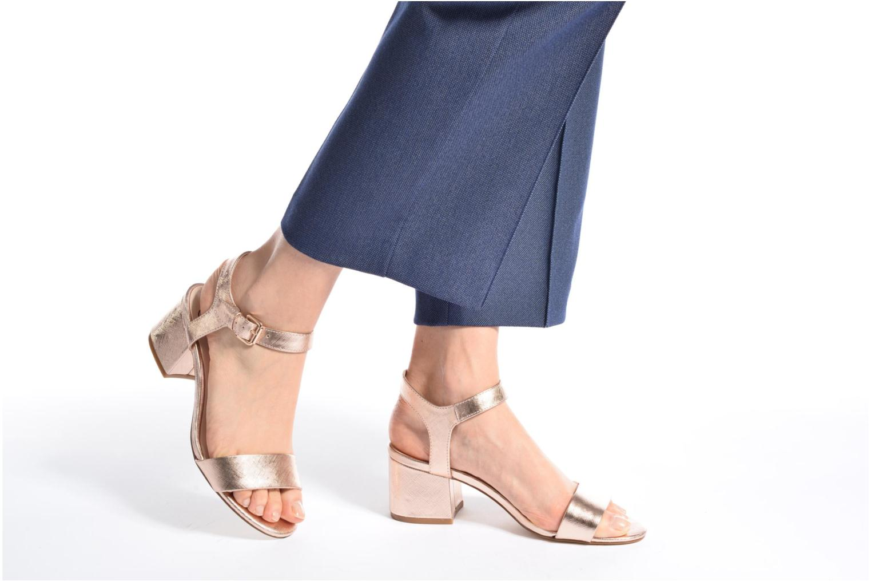 Sandales et nu-pieds I Love Shoes BLEUR Bleu vue bas / vue portée sac
