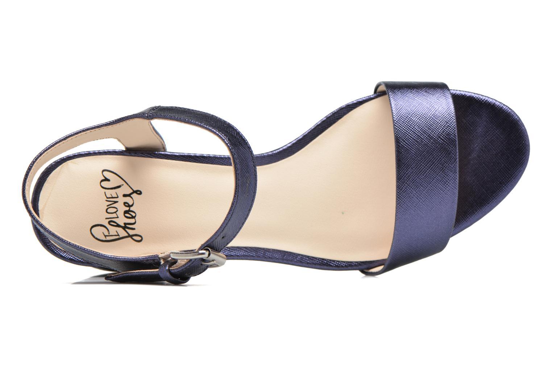 Sandalias I Love Shoes BLEUR Azul vista lateral izquierda