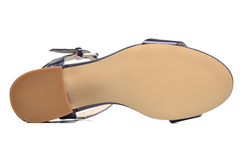 Sandalias I Love Shoes BLEUR Azul vista de arriba