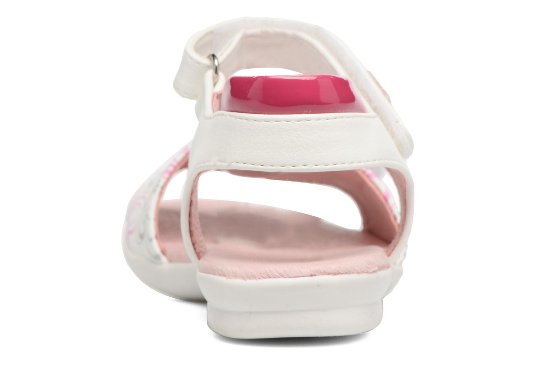 Sandales et nu-pieds Agatha Ruiz de la Prada Clever 3 Blanc vue droite