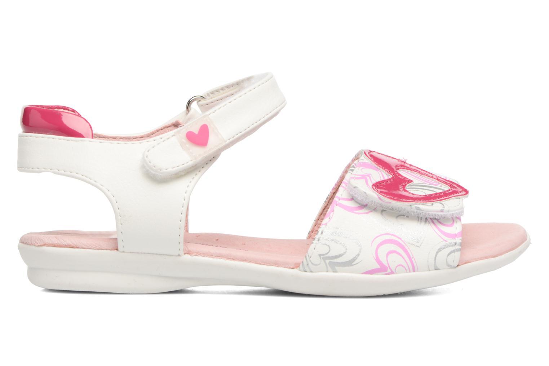 Sandales et nu-pieds Agatha Ruiz de la Prada Clever 3 Blanc vue derrière