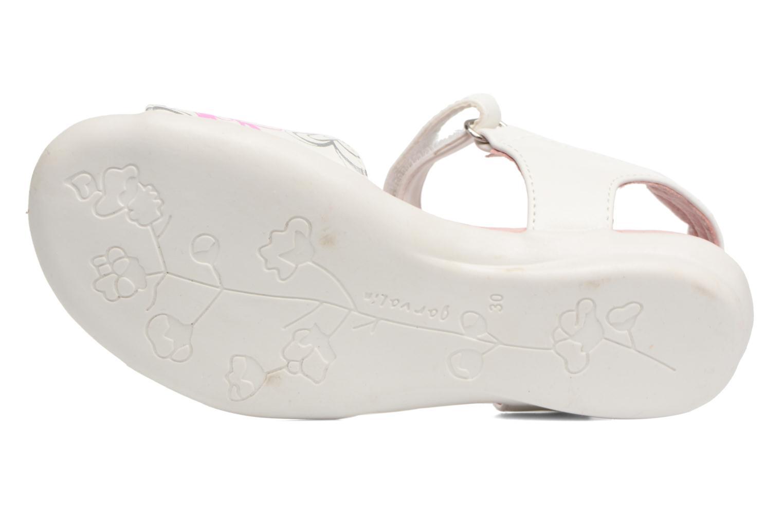 Sandales et nu-pieds Agatha Ruiz de la Prada Clever 3 Blanc vue haut