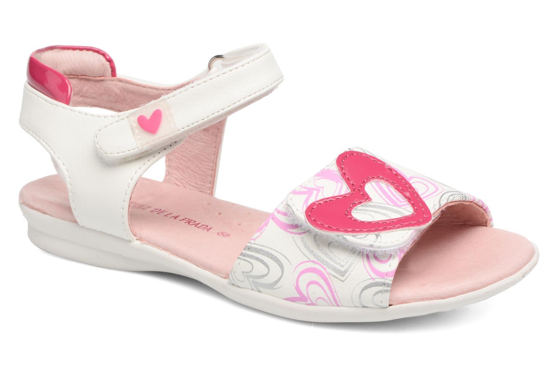 Sandales et nu-pieds Agatha Ruiz de la Prada Clever 3 Blanc vue détail/paire