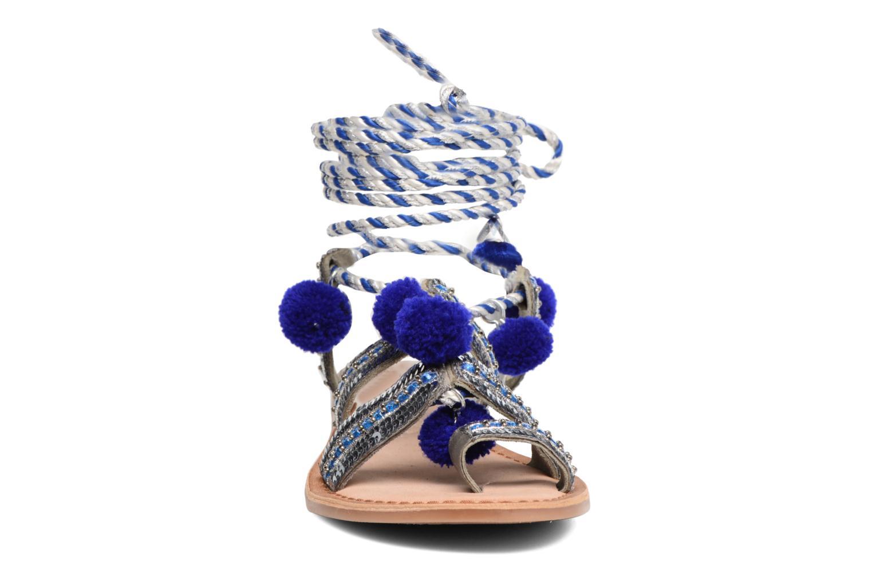Sandales et nu-pieds Gioseppo Yurak Bleu vue portées chaussures