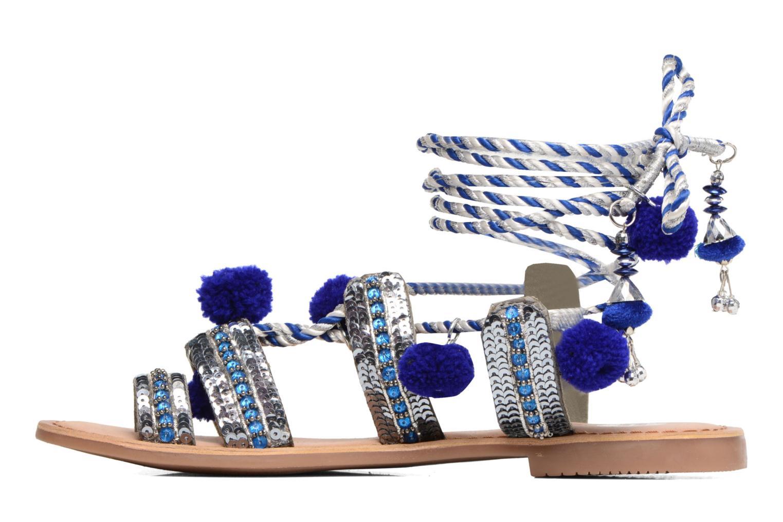 Sandales et nu-pieds Gioseppo Yurak Bleu vue face