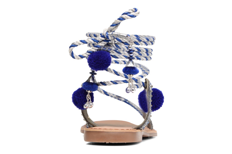 Sandales et nu-pieds Gioseppo Yurak Bleu vue droite