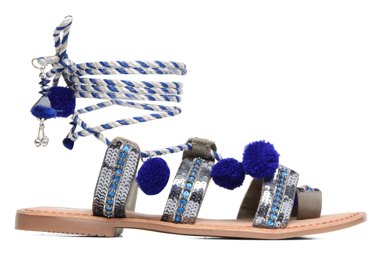Sandales et nu-pieds Gioseppo Yurak Bleu vue derrière