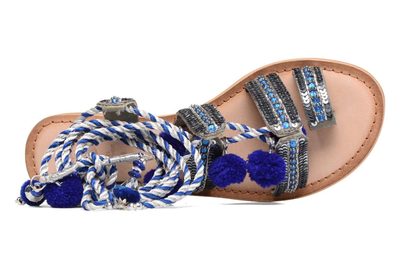 Sandales et nu-pieds Gioseppo Yurak Bleu vue gauche