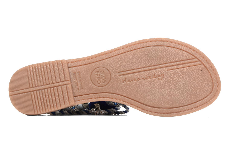Sandales et nu-pieds Gioseppo Yurak Bleu vue haut