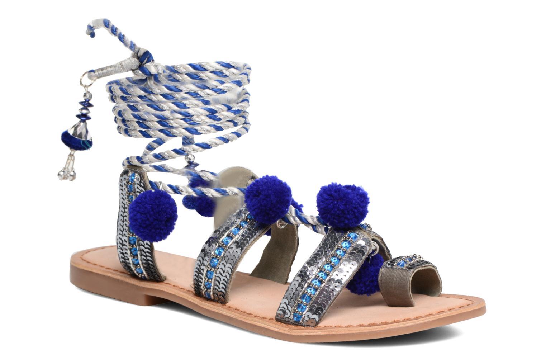 Sandales et nu-pieds Gioseppo Yurak Bleu vue détail/paire