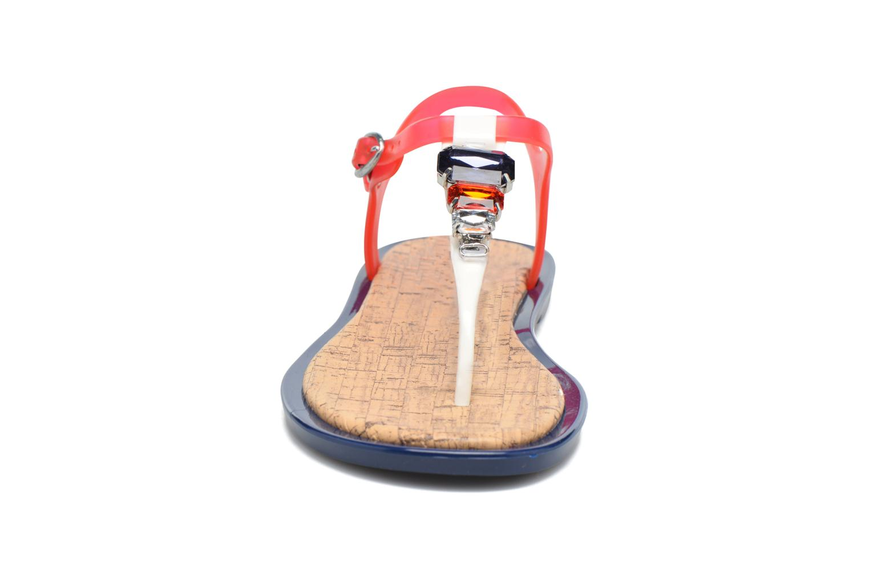 Sandales et nu-pieds Gioseppo Ochiba Bleu vue portées chaussures
