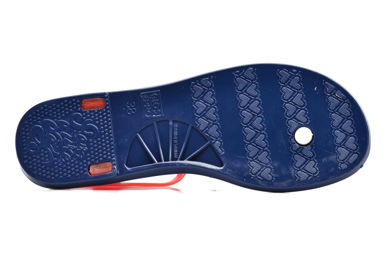 Sandales et nu-pieds Gioseppo Ochiba Bleu vue haut