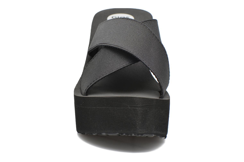 Mules et sabots Gioseppo Fontanilla Noir vue portées chaussures