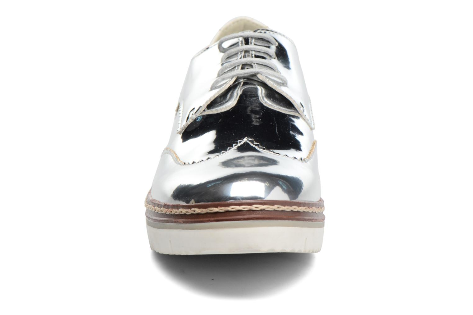 Lace-up shoes I Love Shoes thalweg Silver model view