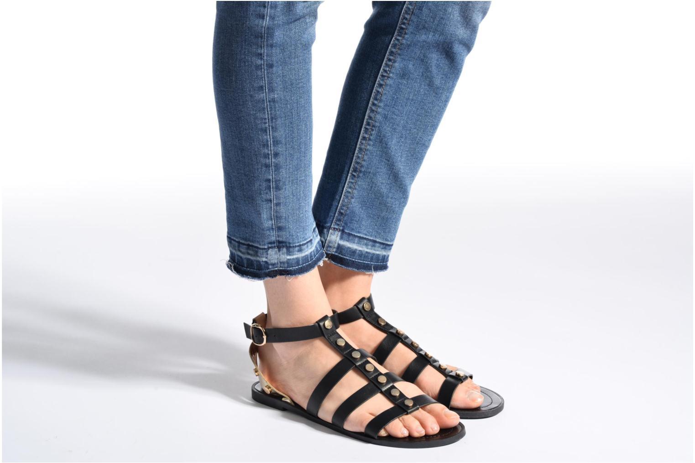 Sandales et nu-pieds I Love Shoes THEAHIGHT Marron vue bas / vue portée sac