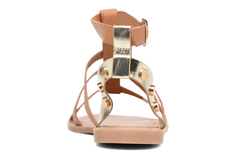 Sandales et nu-pieds I Love Shoes THEAHIGHT Marron vue droite