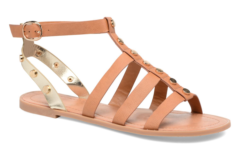 Sandales et nu-pieds I Love Shoes THEAHIGHT Marron vue détail/paire